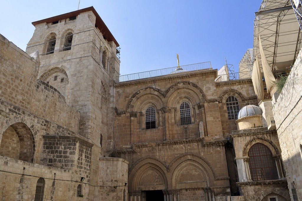 Most Famous Churches In The World: Church of the Holy Sepulchre, Jerusalem