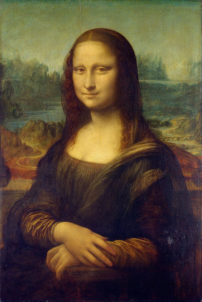 Most FamousWorks Of Art: Mona Lisa, Louvre, Paris