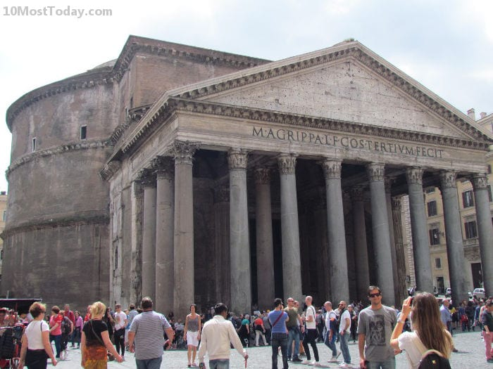 Best Attractions In Rome: The Pantheon