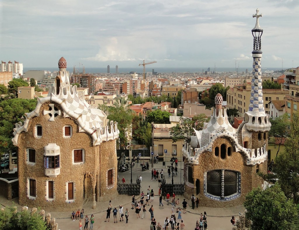 Most Famous Urban Parks: Park Guell, Barcelona