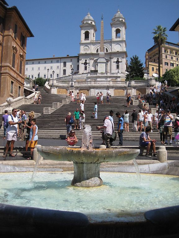Best Attractions In Rome: The Spanish Steps