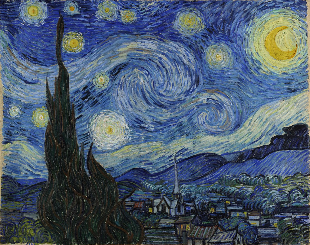 Most Famous Works Of Art: Starry Night by Vincent van Gogh