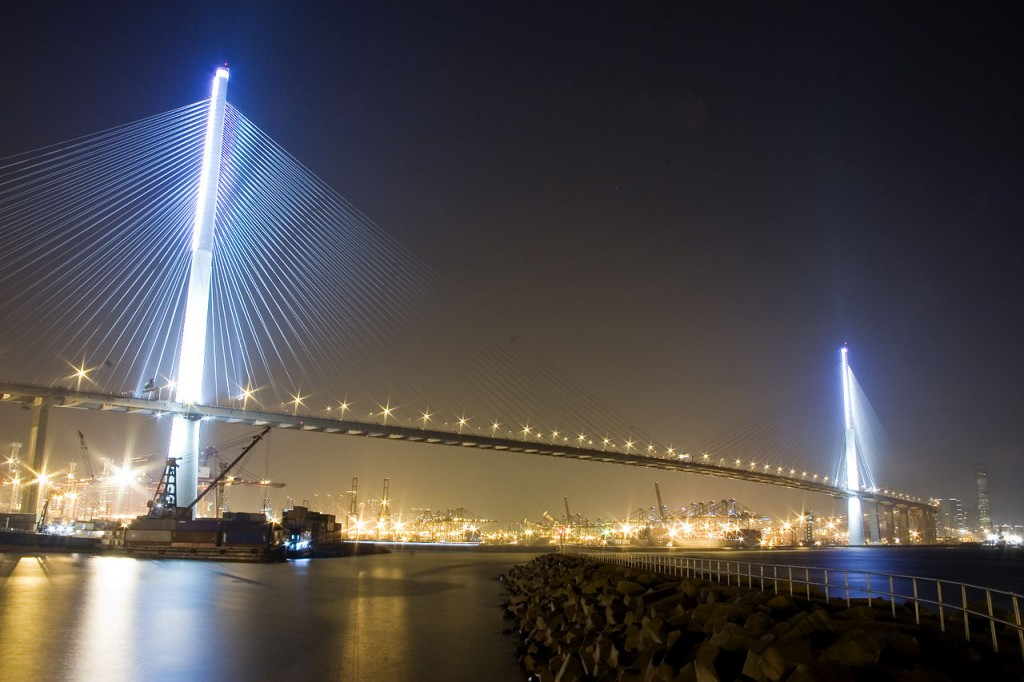 Tallest Bridges In The World: Stonecutters Bridge, Hong Kong