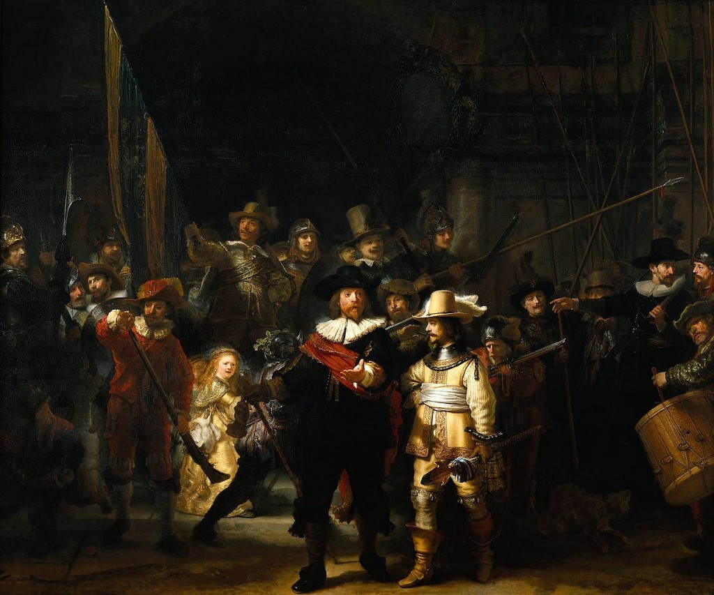 Most Famous Paintings: The Night Watch, by Rembrandt van Rijn