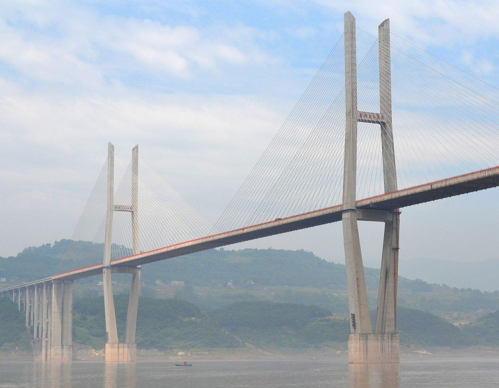 Tallest Bridges In The World: Zhongxian Huyu Expressway Bridge, China