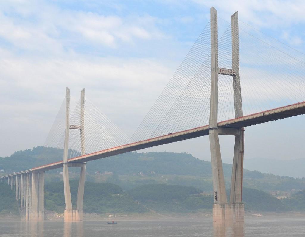 Tallest Bridges In The World: Zhongxian Huyu Expressway Bridge, China