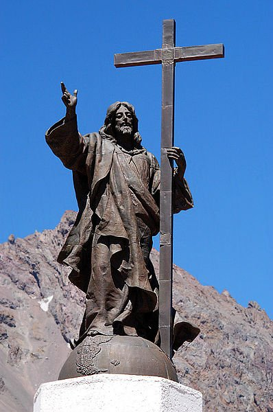 Christ the Redeemer of the Andes, Chile - Argentina border