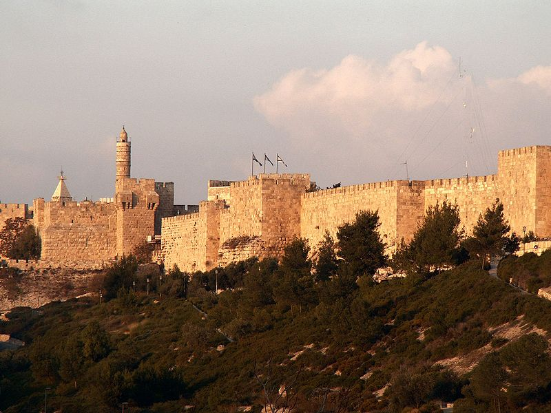 Most Beautiful Walled Cities: Jerusalem, Israel