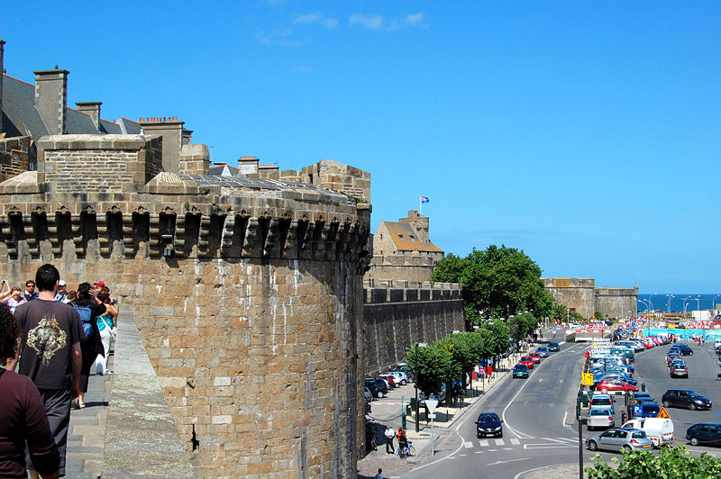 Most Beautiful Walled Cities: Saint Malo, France