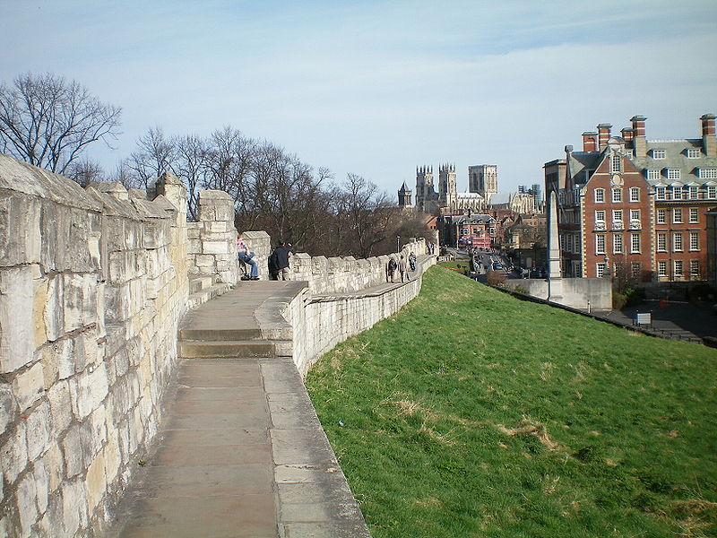 Most Beautiful Walled Cities: York, England