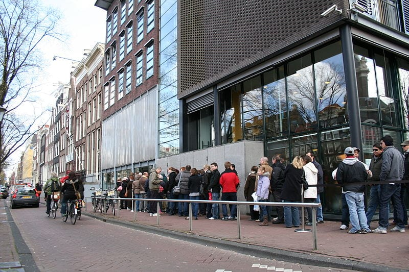 Best Attractions In Amsterdam: Anne Frank House