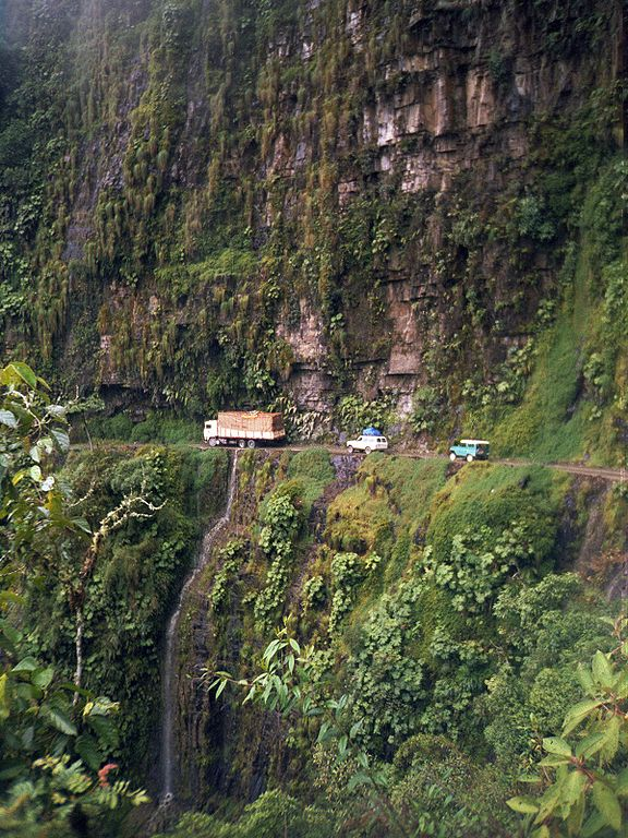 World's most dangerous road: The Death Road, Bolivia