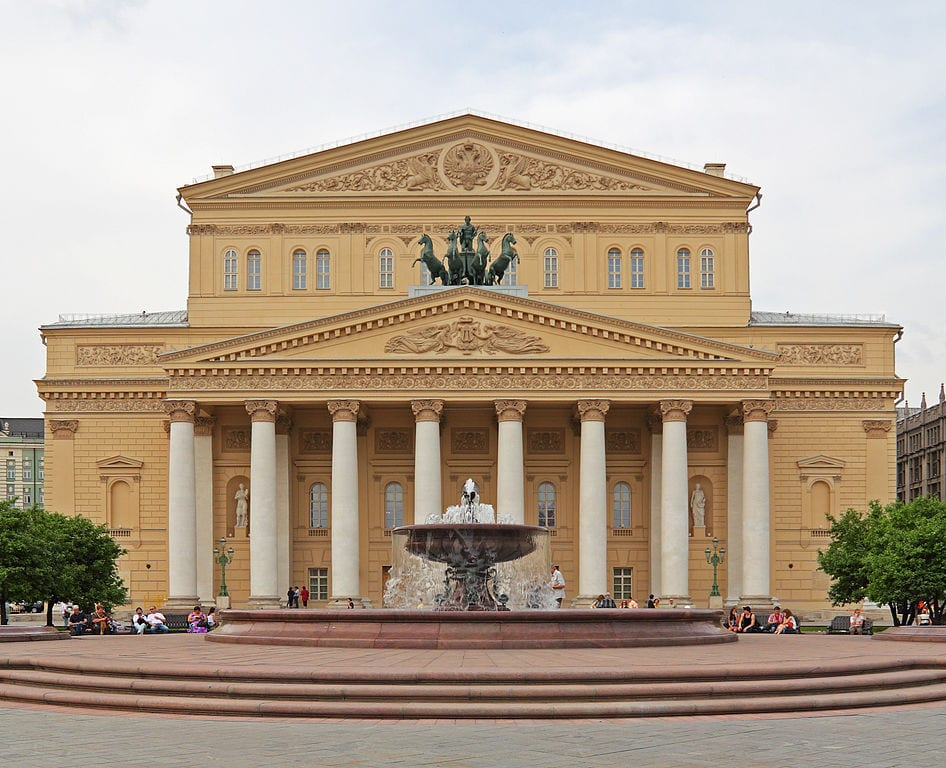 Best Opera Houses In The World: Bolshoi Theatre, Moscow
