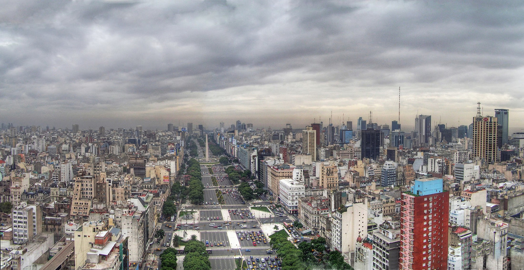 World's widest street: 9 de Julio Avenue, Buenos Aires