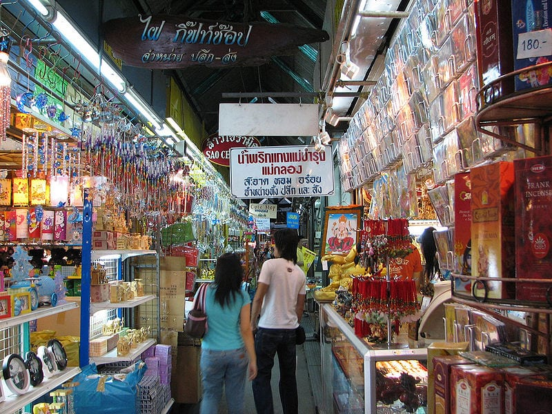 Most Famous Street Markets: Chatuchak Weekend Market, Bangkok
