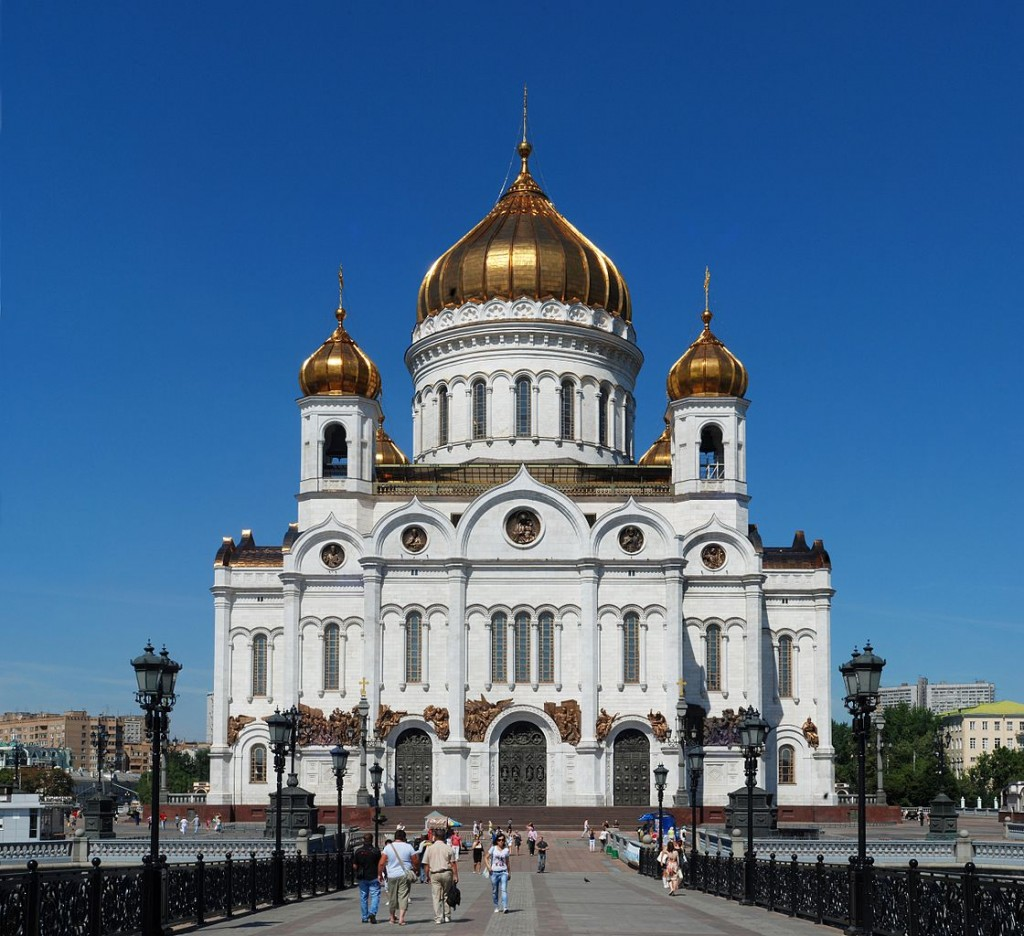 Best Attractions In Moscow: Church of Christ the Savior