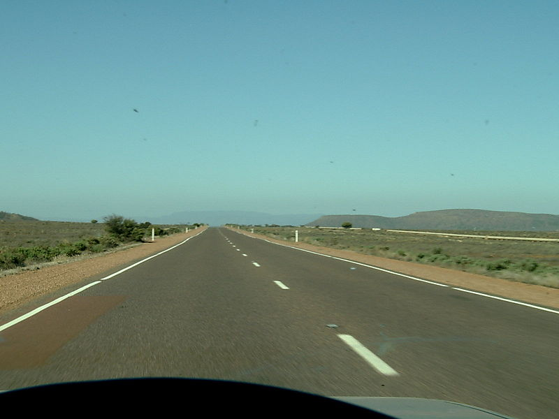 World's most monotonous road: The Eyre Highway, Australia