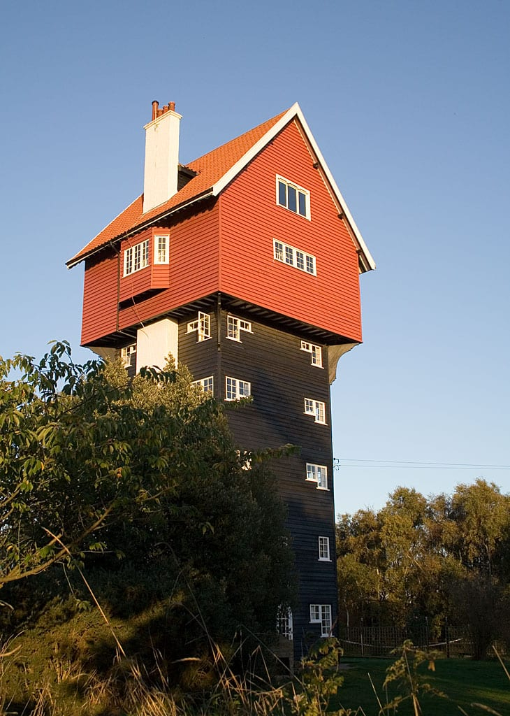 Coolest Water Towers: House in the Clouds, Thorpeness, England
