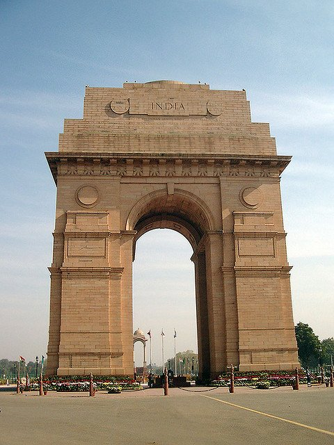 Most Famous Man-Made Arches: India Gate, New Delhi, India