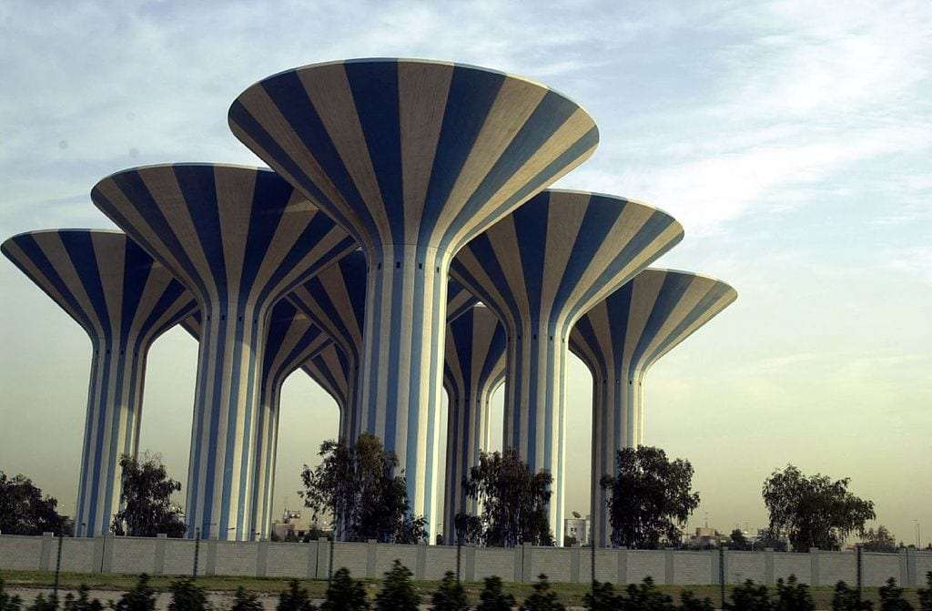 Coolest Water Towers: Kuwait City water towers, Kuwait City, Kuwait