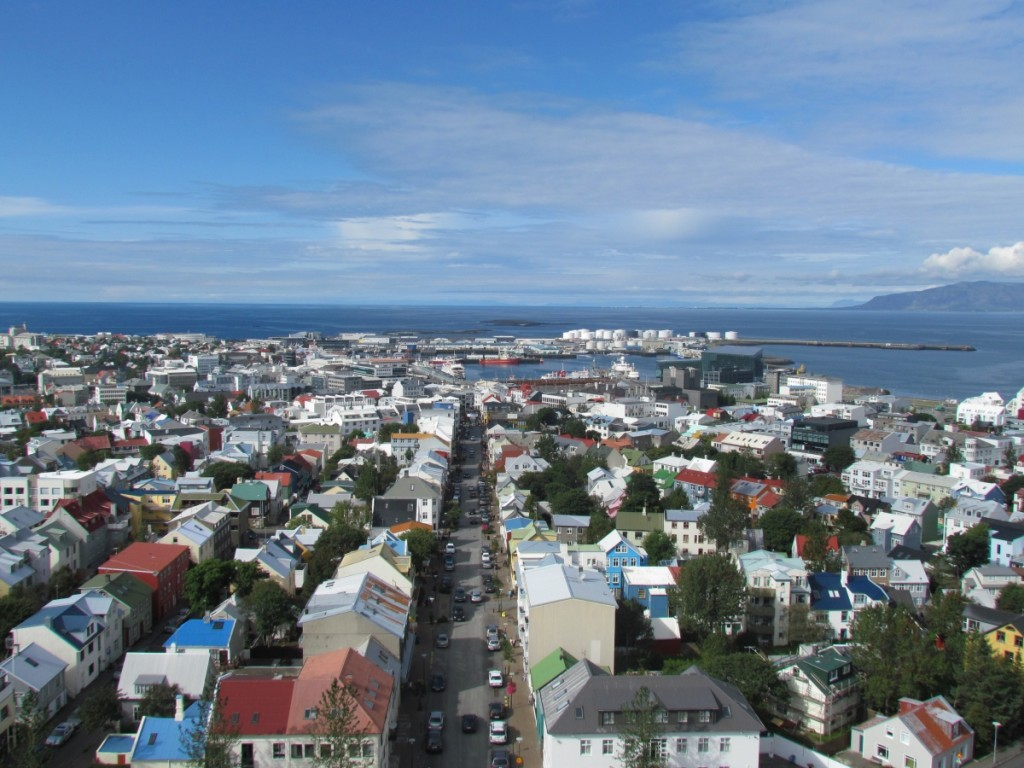 Reykjavik, Iceland. Iceland is the 10th smallest Country in Europe