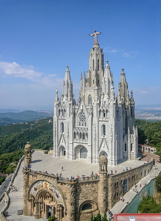 Best Attractions In Barcelona: Mount Tibidabo