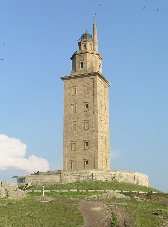 Most Famous Lighthouses In The World: Tower of Hercules, Spain