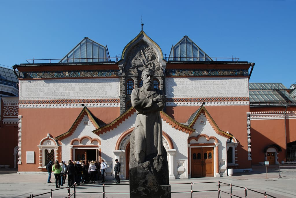 Best Attractions In Moscow: Tretyakov Gallery