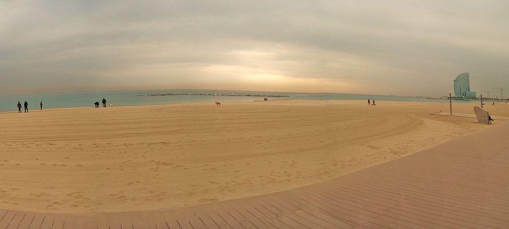 Best Attractions In Barcelona: Barceloneta Beach