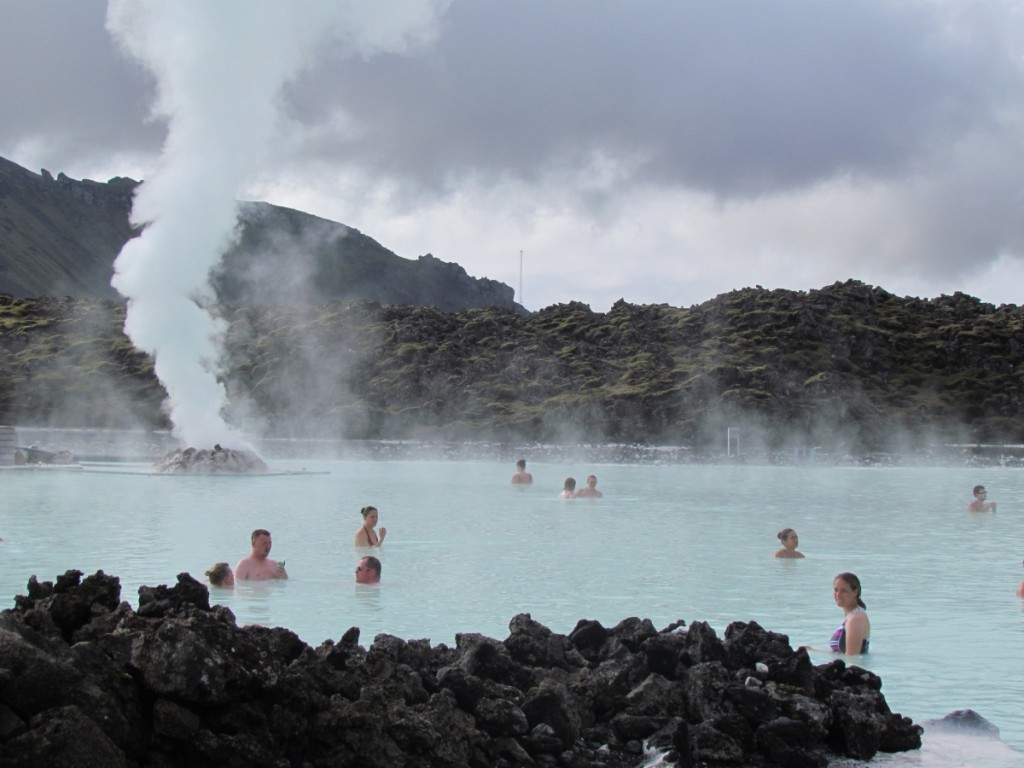 Great Hot Springs You Can Bathe In: The Blue Lagoon