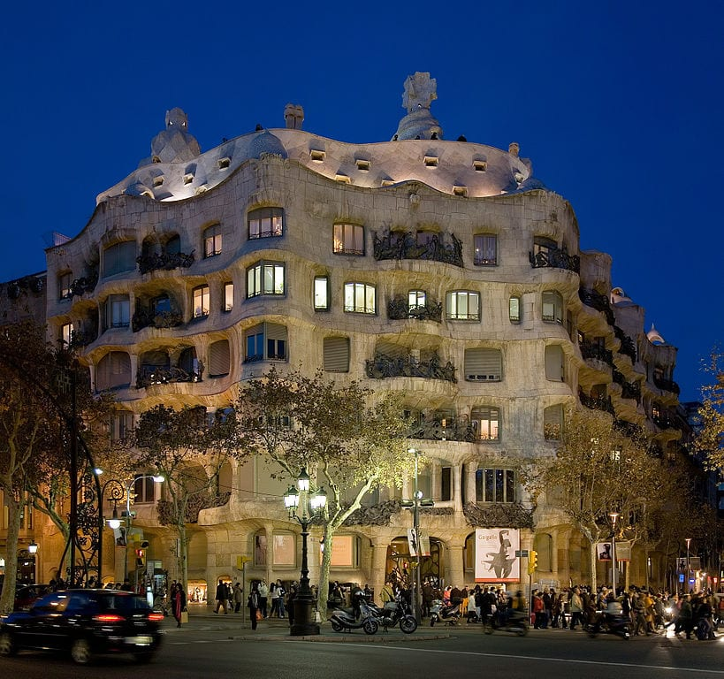 Best Attractions In Barcelona: Casa Mila