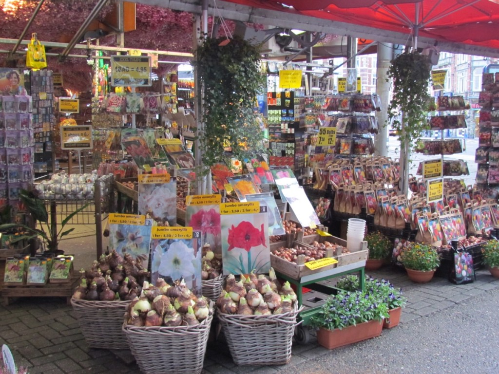 Best Attractions In Amsterdam: Floating Flower Market