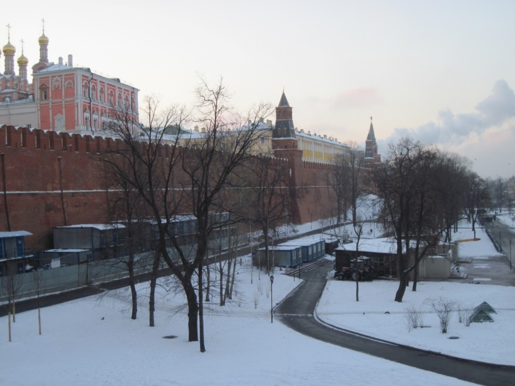 The Kremlin complex in Moscow, Russia - one of the 16 cultural world heritage sites in Russia