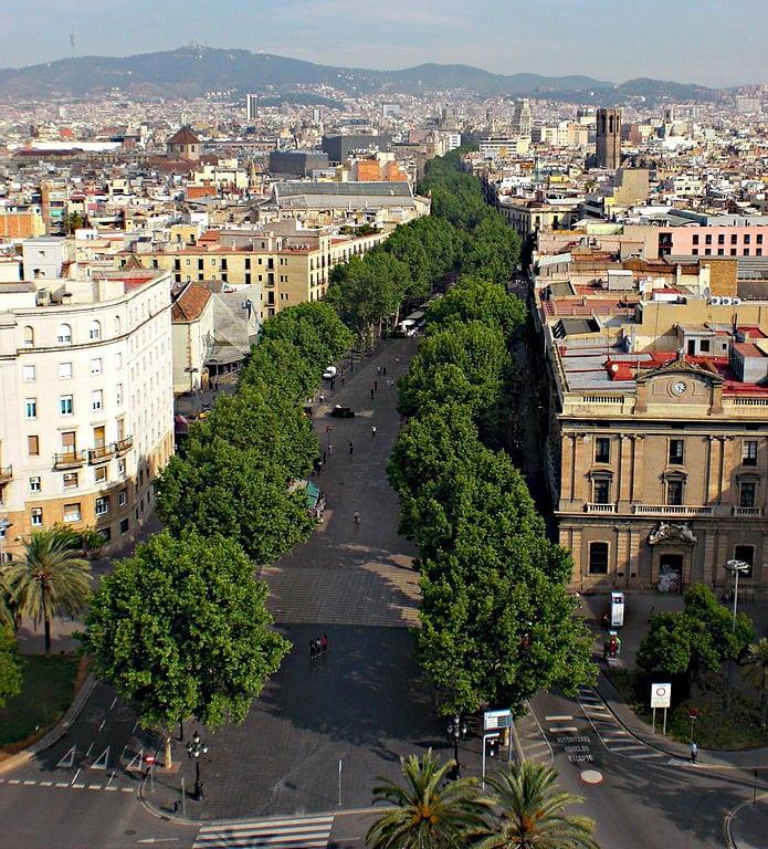 Best Attractions In Barcelona: La Rambla
