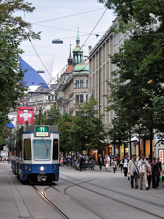 Best Shopping Streets In The World: Bahnhofstrasse, Zurich