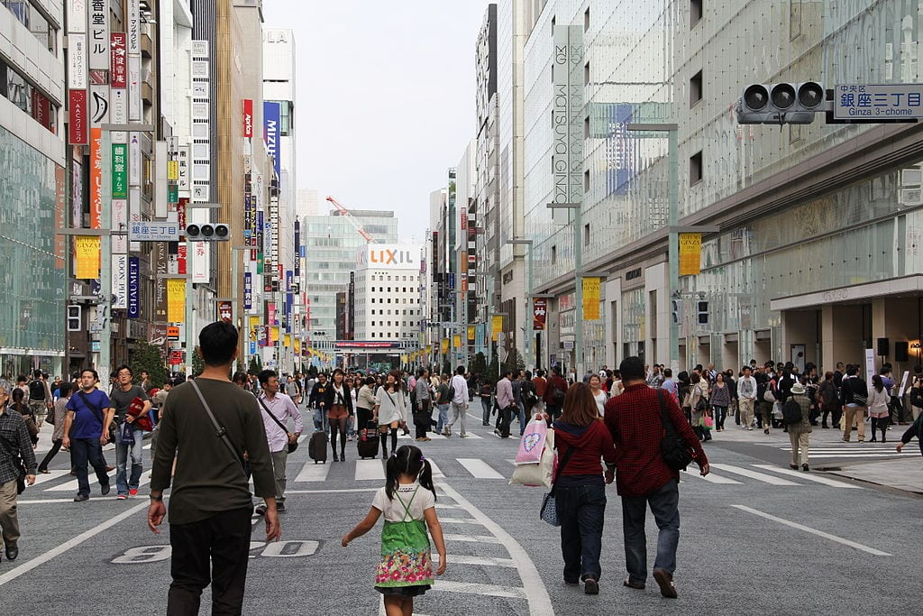 Best Shopping Streets In The World: Ginza, Tokyo