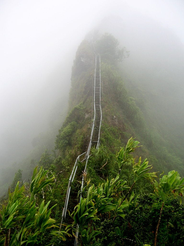 Staircases Worth The Climb: Haiku Stairs, Hawaii, United States