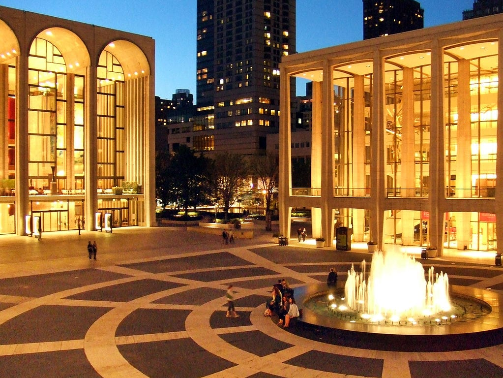 Best Opera Houses In The World: Lincoln Center, New York