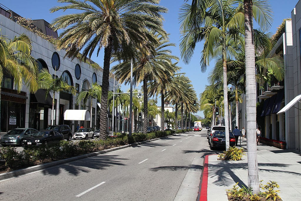 Best Shopping Streets In The World: Rodeo Drive, Beverly Hills (CA)
