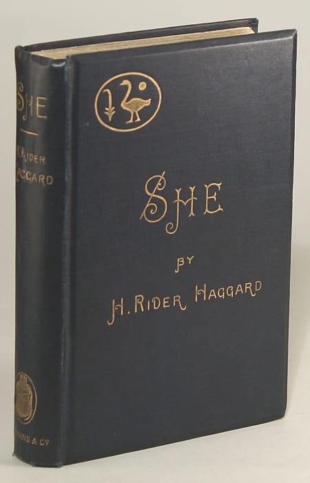 She: A History of Adventure, by H. Rider Haggard