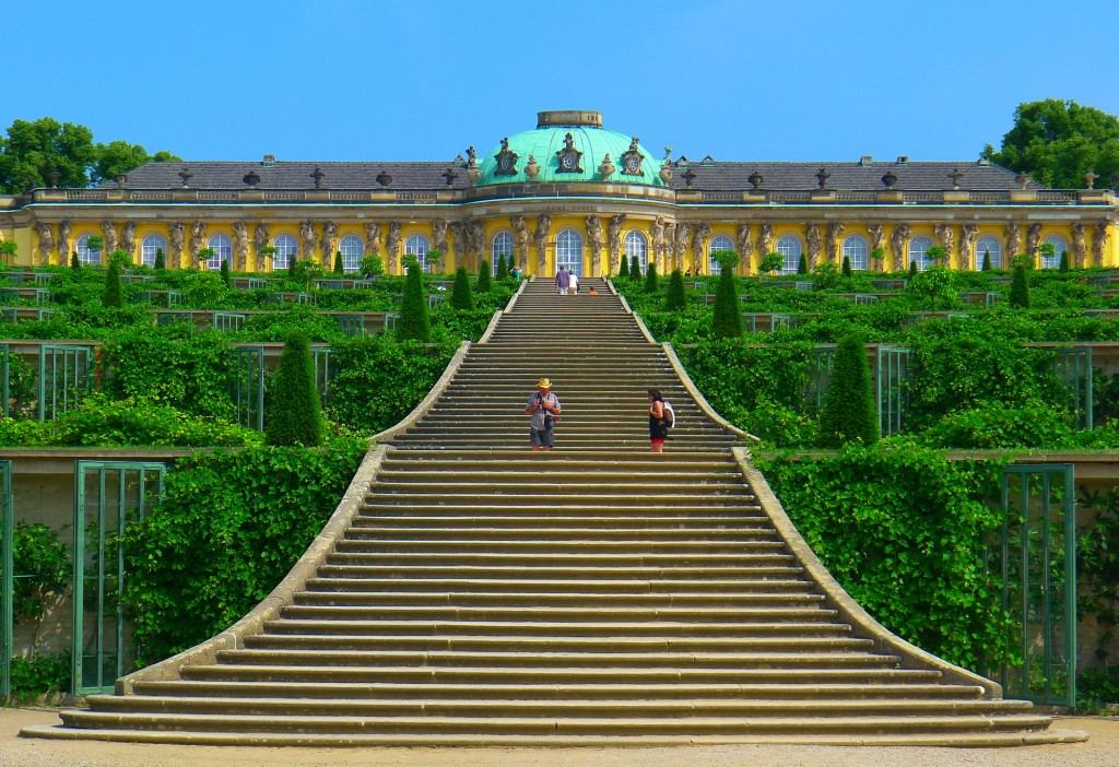 Staircases Worth The Climb: Sanssouci, Potsdam, Germany