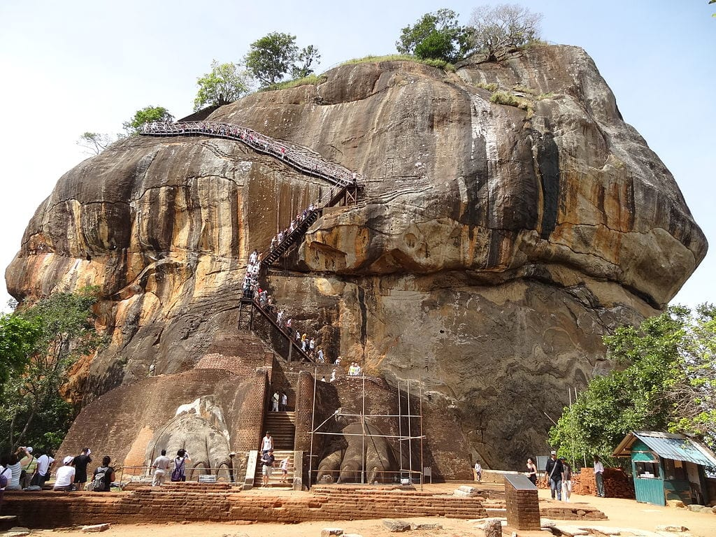 Staircases Worth The Climb: Sigiriya, Sri Lanka