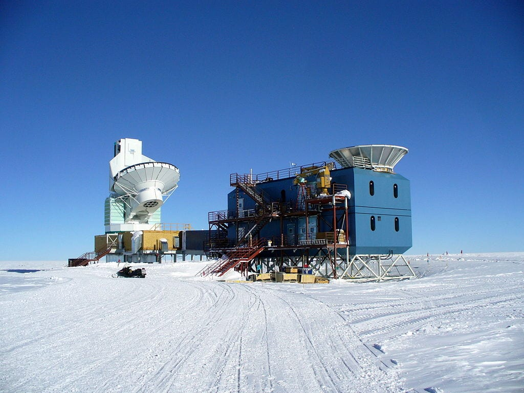Best Observatories In The World: South Pole Telescope, Antartica