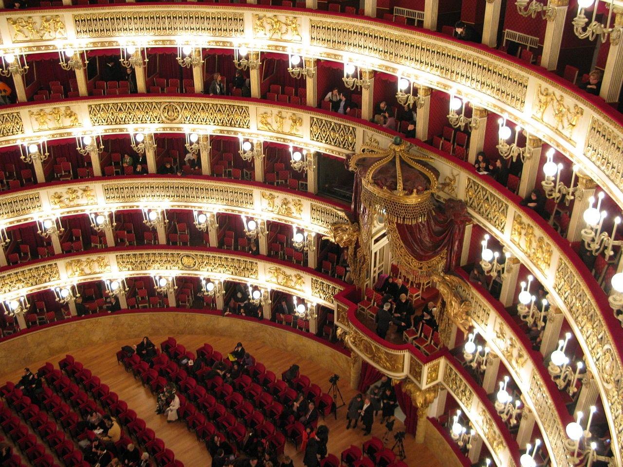 Best opera houses in the world teatro di san carlo naples