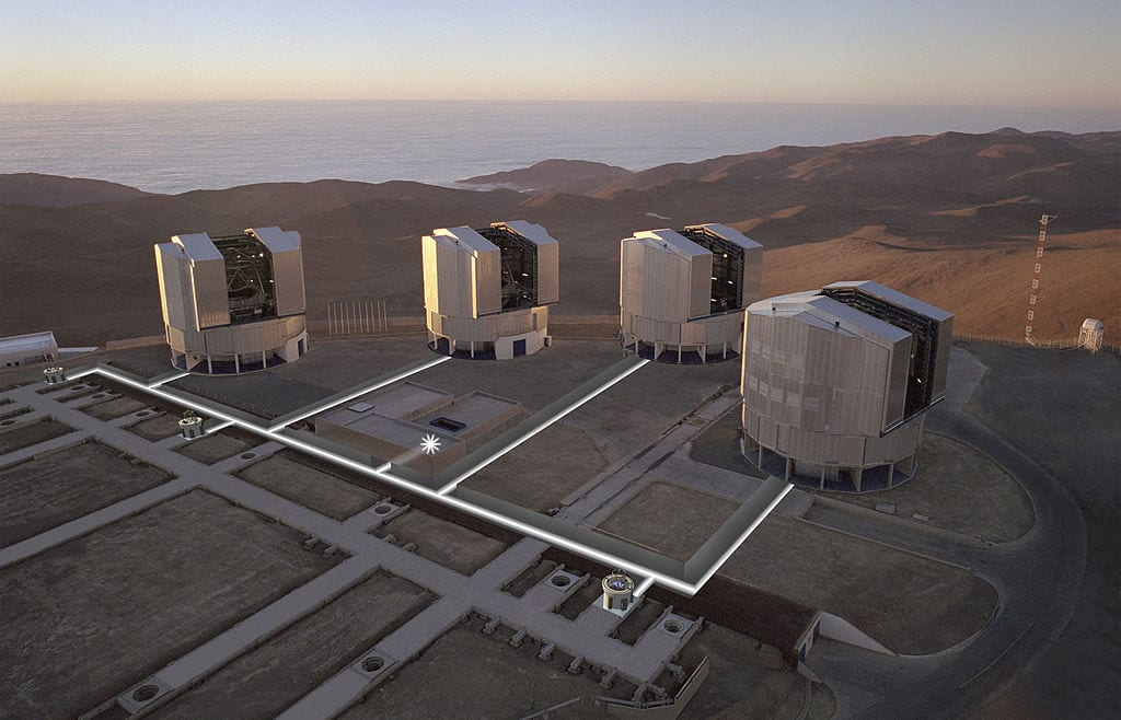 Best Observatories In The World: Very Large Telescope, Chile