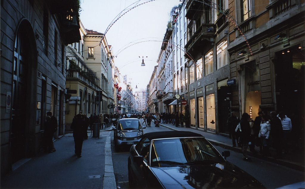 Best Shopping Streets In The World: Via Monte Napoleone, Milan