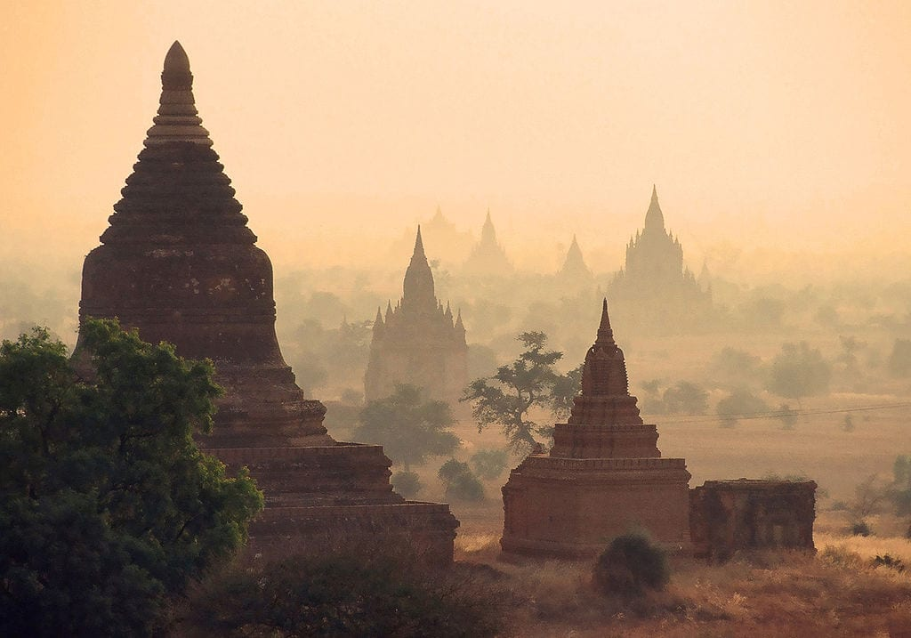 Amazing Cultural World Heritage Sites: Bagan City, Burma (Myanmar)
