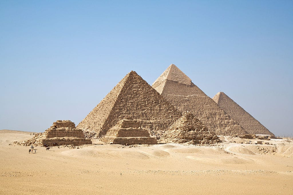 Amazing Cultural World Heritage Sites: Pyramids of Giza, Egypt