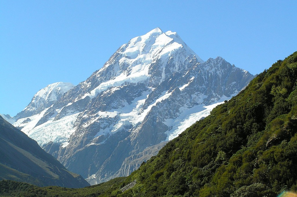 Amazing Natural World Heritage Sites: Mount Cook, New Zealand