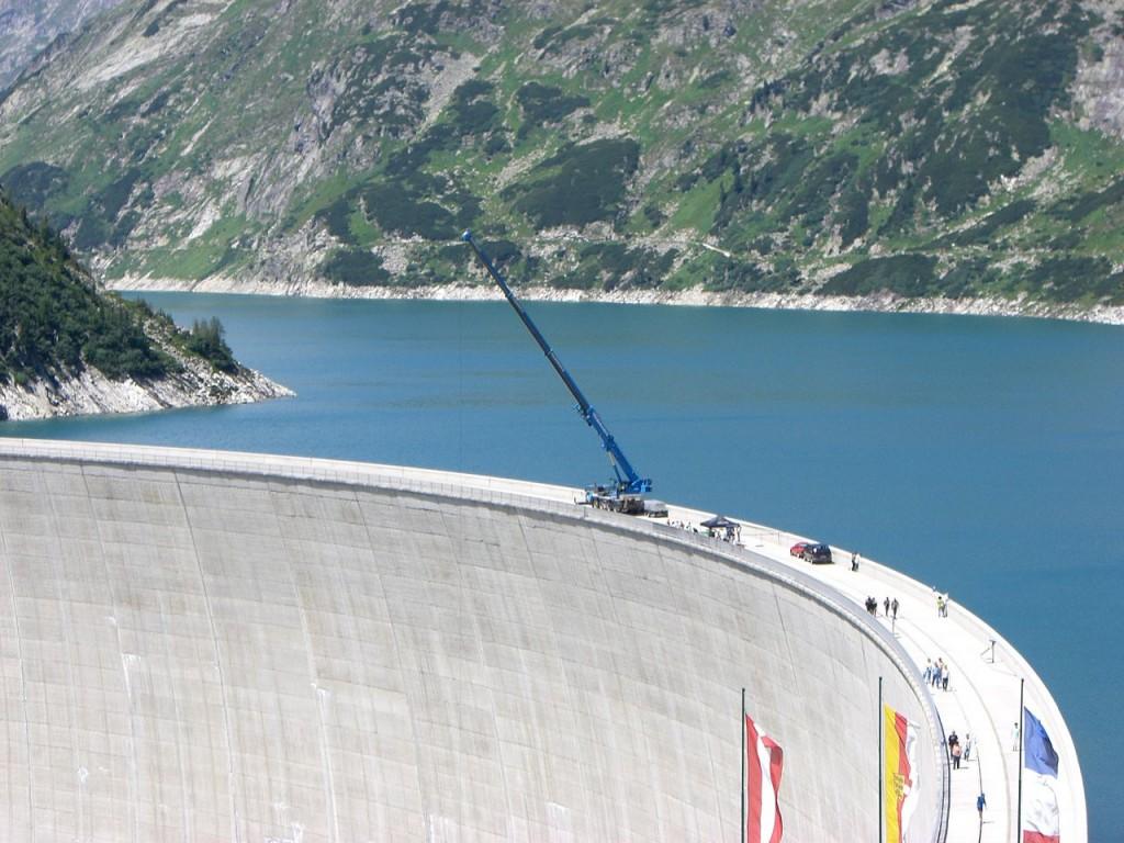 Highest Bungee Jumps: Kolnbrein Dam, Carinthia, Austria